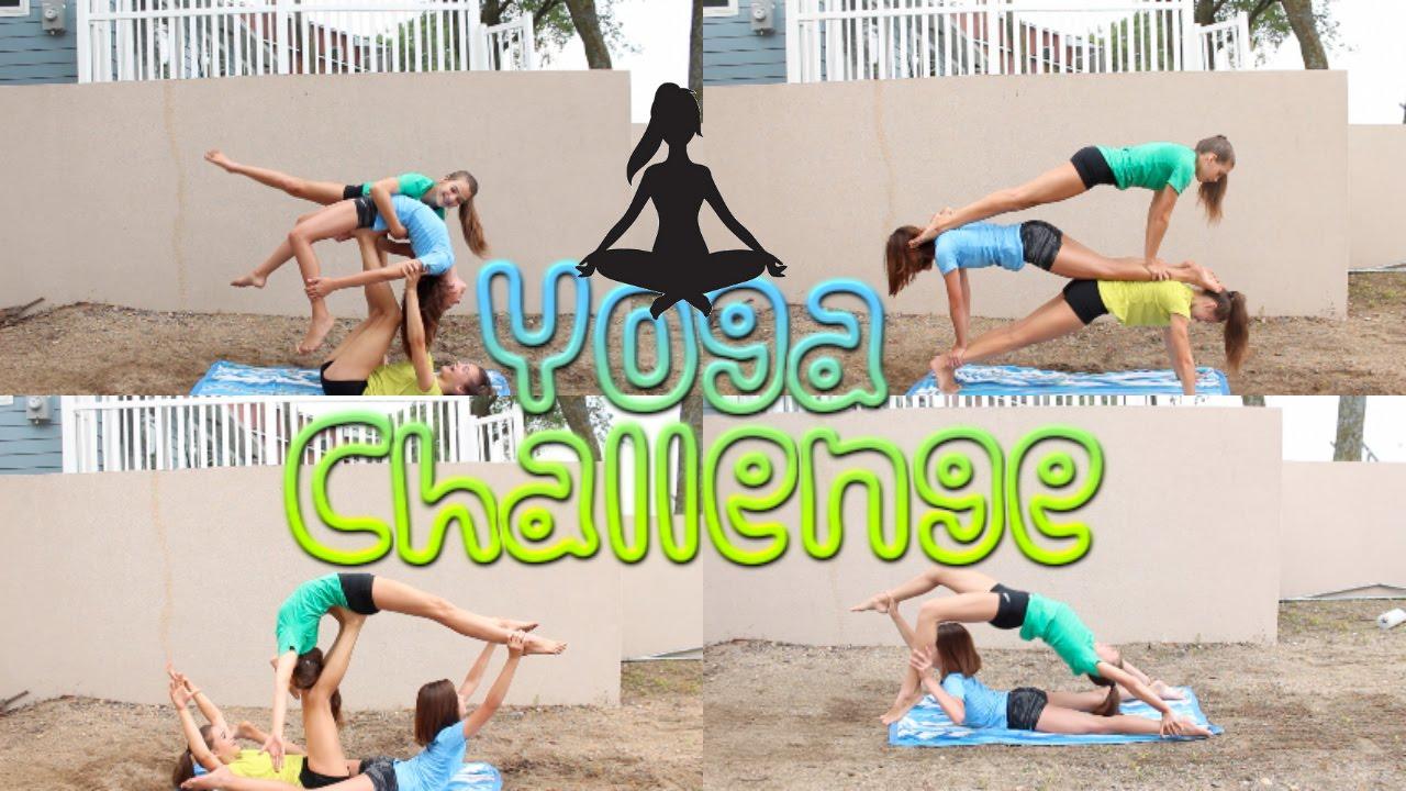 yoga challenge youtube