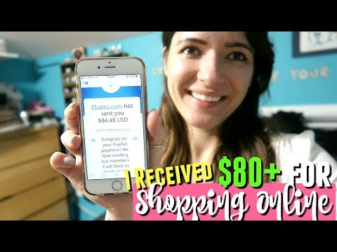 HOW I MADE $80+ FOR SHOPPING ONLINE! How does Ebates cash back work?