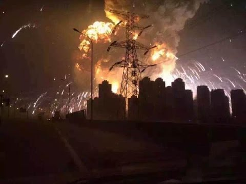 Tianjin,China Explosion 8/12/2015