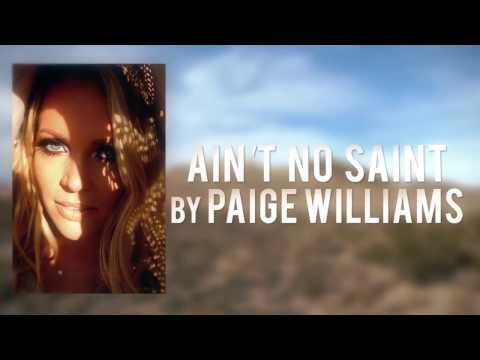 Ain't No Saint By Paige Williams