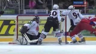 kHL / КХЛ Локомотив - Авангард 20.02.2011