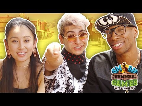 OUR LAST WEEK IN THE WEST (Smosh Summer Games - The Show w/ No Name)