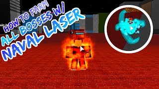 [CODES] How To Grind Any Boss With Naval Laser | Boku No Roblox | JokeBlox