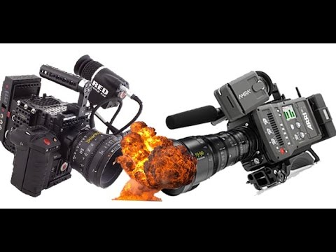 ARRI AMIRA VS. RED EPIC DRAGON – 4K RESOLUTION SHOOTOUT