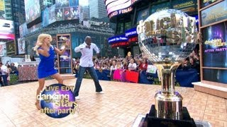 """Donald Driver, Peta Murgatroyd Dance on """"GMA"""":"""