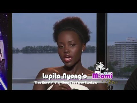 Lupita Nyong'o, Oscar Isaac 'Star Wars' Interview