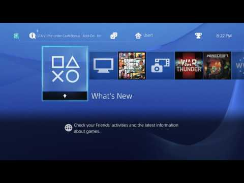 ps4 main home menu music , playstation 4 system music by BGM