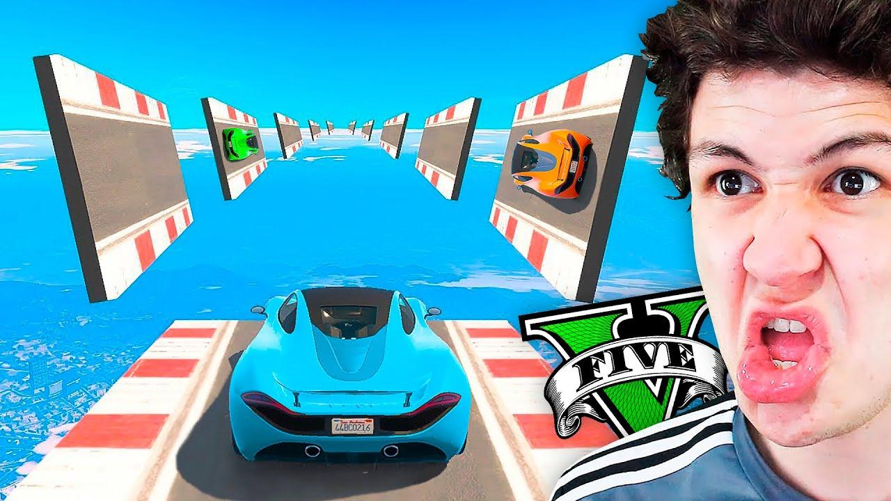 JUEGO a la CARRERA más EXTREMA de GTA 5! (GTA Online)