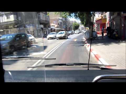 Israel - MAN Buses In Tel Aviv - ישראל, תל אביב  אוטובוס
