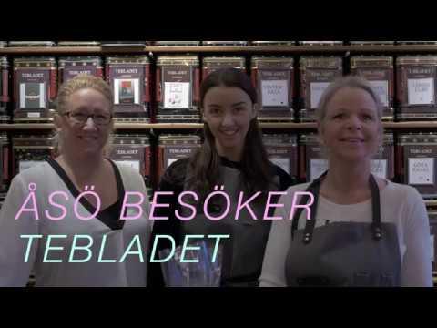 ÅSÖ BESÖKER - Tebladet