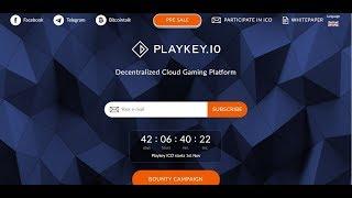 Ulasan Tentang ICO playkey io salah satu penyedia layanan Games Streaming Platform Permainan Cloud