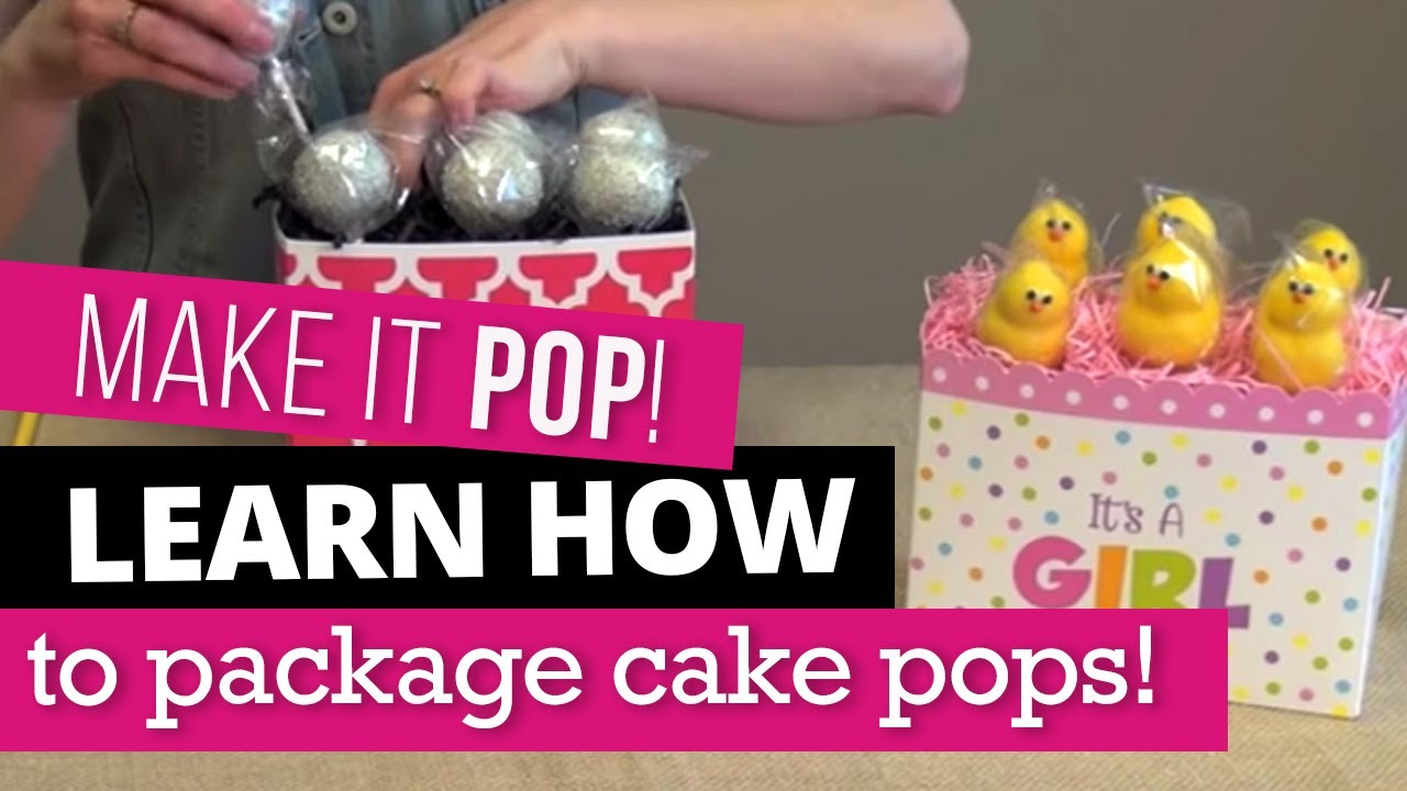 How To Display Cake Pops In A Gift Basket Box Nashville