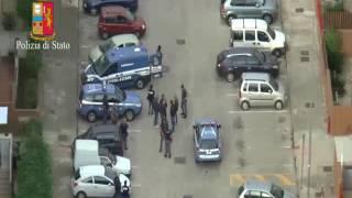 Bari, arresti polizia