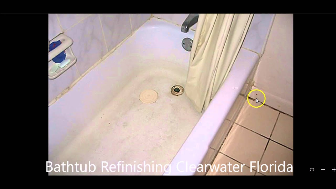 BATHTUB REFINISHING CLEARWATER FLORIDA