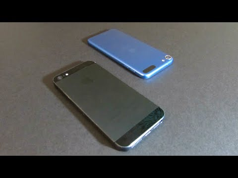 COMPARISON - iPod touch 6th Generation vs. iPhone 5 | TrevorMVlogz