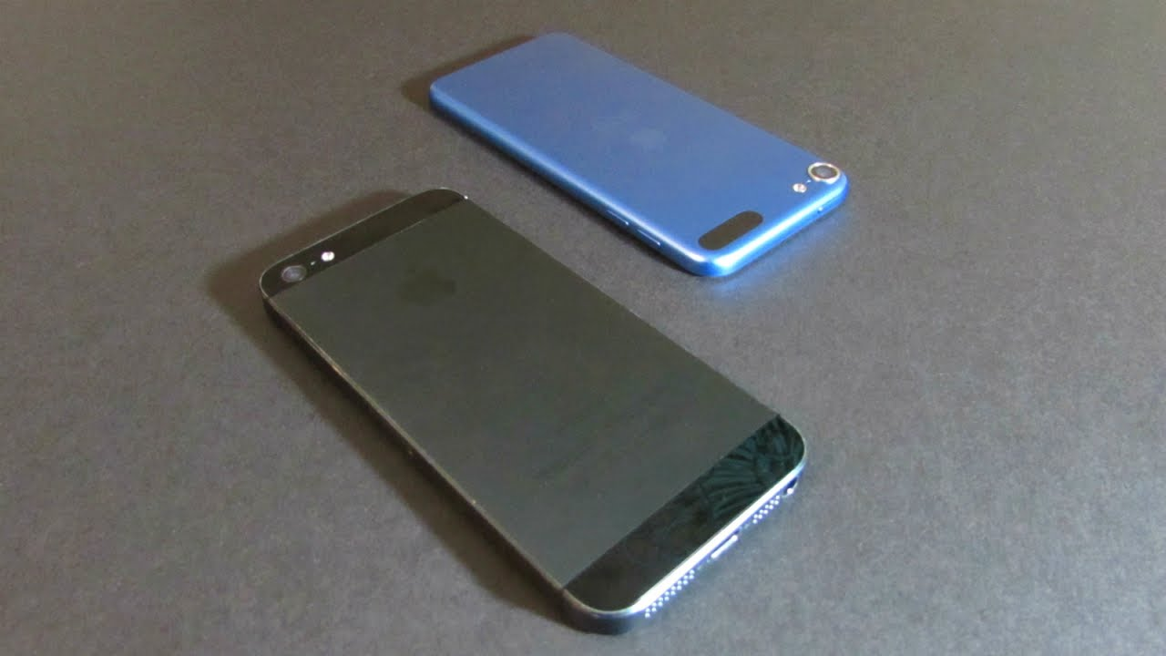 new styles c33b0 691c5 COMPARISON - iPod touch 6th Generation vs. iPhone 5 | TrevorM