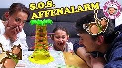 Let's Play S.O.S AFFENALARM   Lasst die Affen nicht Purzeln   Lustiges Affenspiel   Kinderkanal