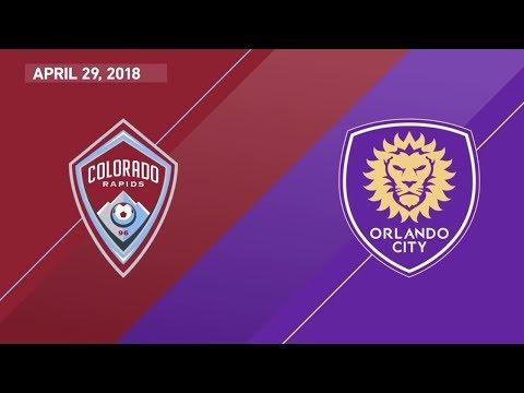 HIGHLIGHTS: Colorado Rapids vs. Orlando City SC   April 29, 2018