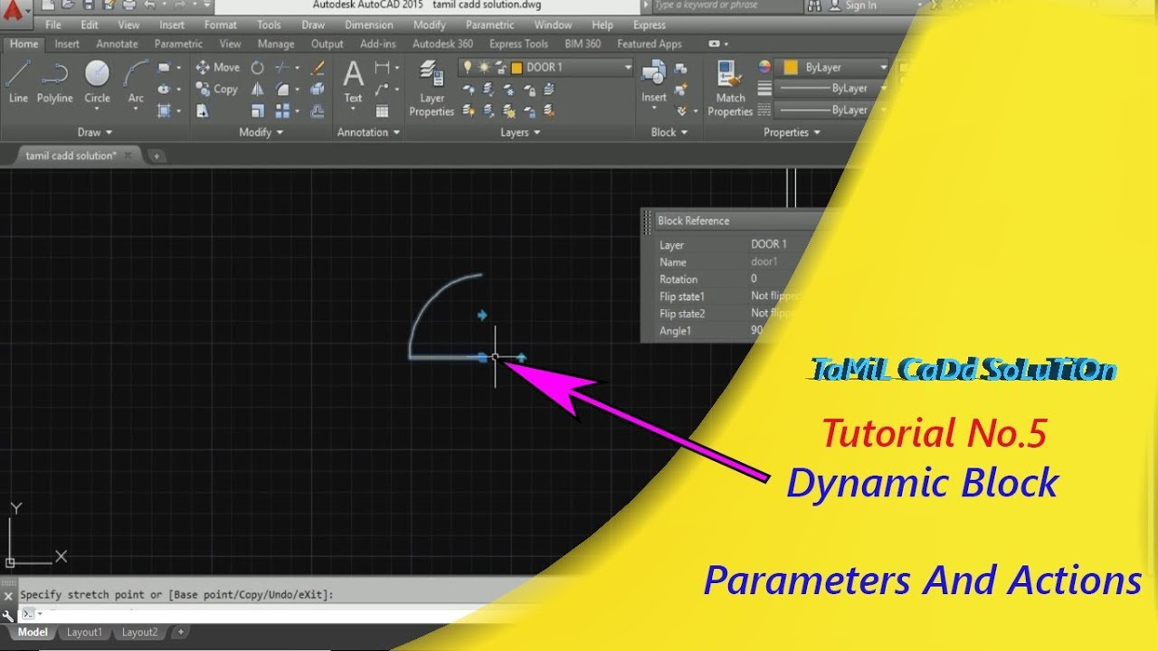 How to Add Block Parameters And Actions (Dynamic block) Tutorial -- Tamil