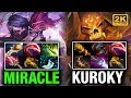 Miracle- Vs Kuroky Epic Match Up So Close To Win Dota 2 video
