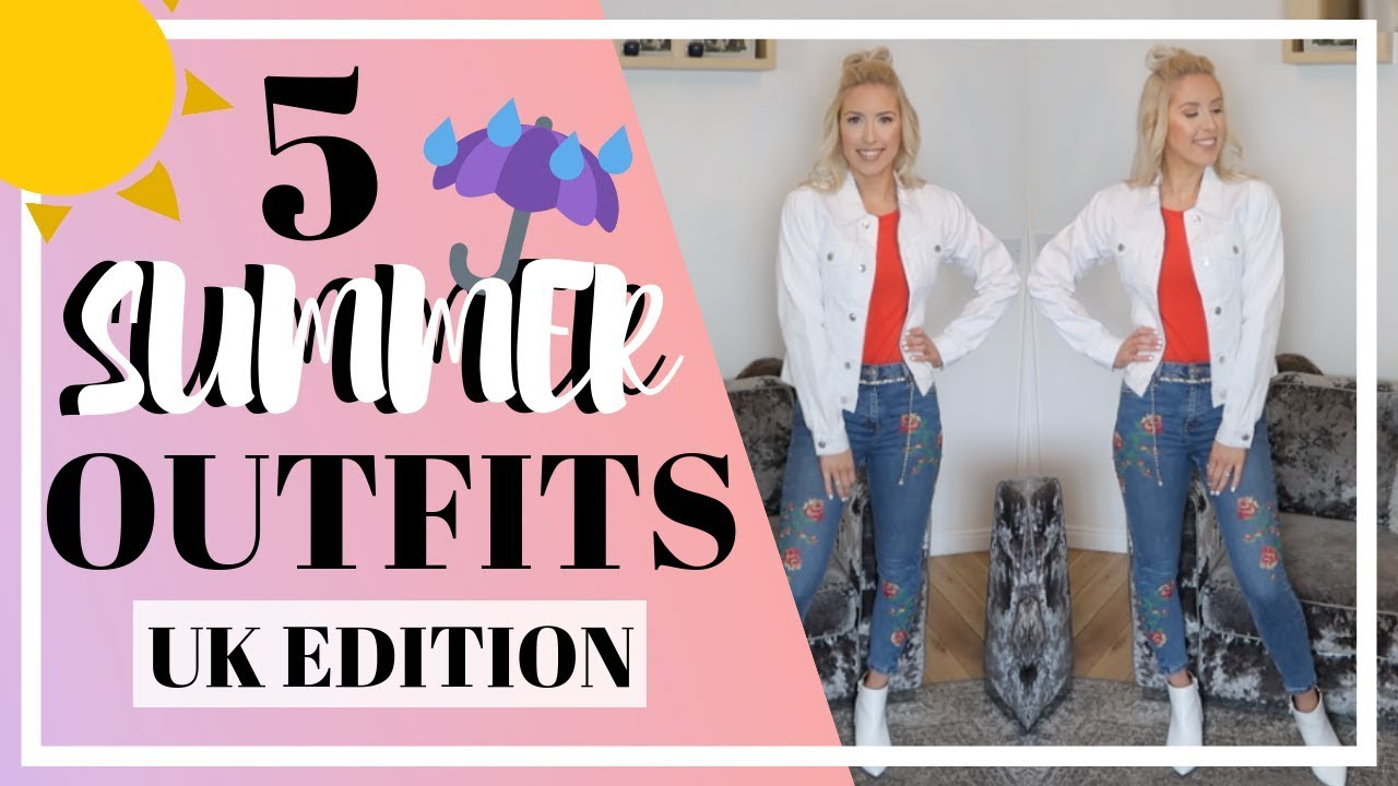 SUMMER OUTFIT IDEAS | UK WEATHER EDITION