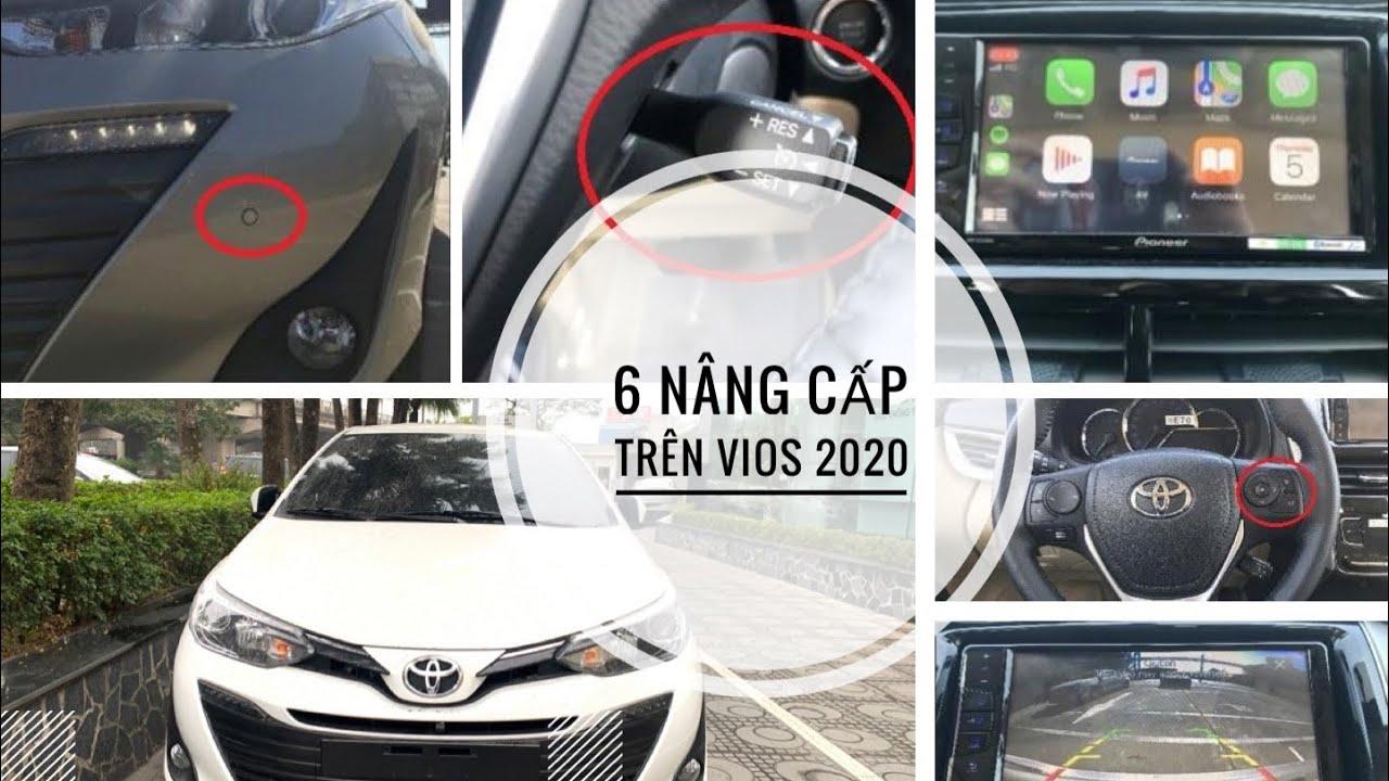 Toyota Vios 2020 G cao câps| 6 nâng cấp mới