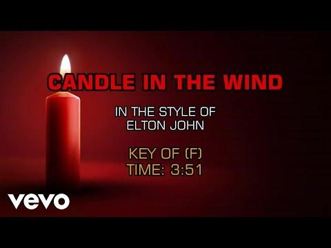 Elton John - Candle In The Wind (Karaoke)