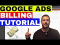Google Adwords Billing Tutorial - Adding Payment Method In Google Ads