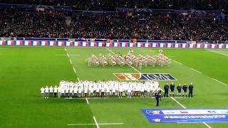 La marseillaise de 58.607 spectateurs.  France / Nouvelle Zélande le 14/11/2017