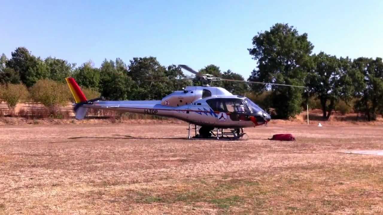 Elicottero 355 : Aviosuperficie alisoriano elicottero as impiegato per il