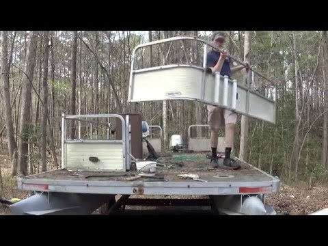 Full Pontoon Renovation Pt 3