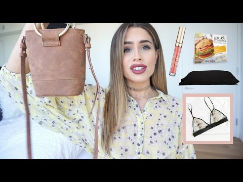 April Favorites 2017 (BEAUTY + FOOD + ACCESSORIES + BRAS)