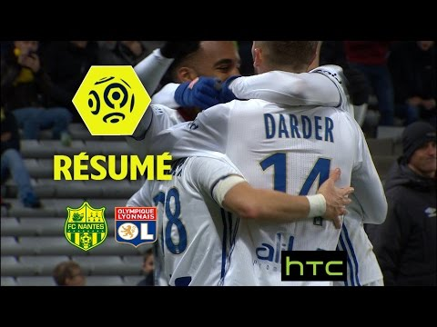 FC Nantes - Olympique Lyonnais (0-6)  - Résumé - (FCN - OL) / 2016-17