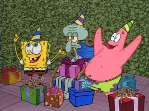 spužva bob sretan rođendan Lignjoslavov rodjendan   YouTube spužva bob sretan rođendan