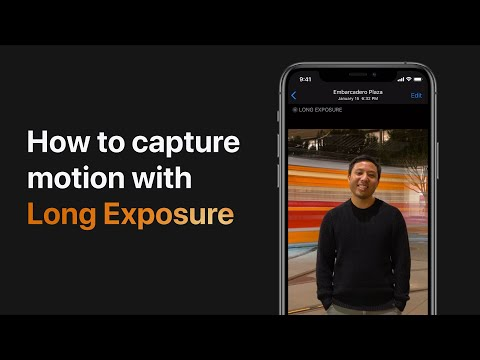 How To Capture Motion With The Long Exposure Effect On IPhone, IPad, And IPod Touch — Apple Support