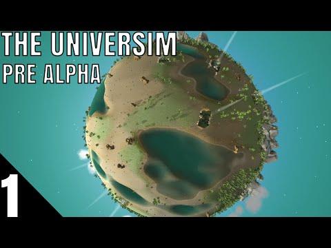 New God Game! - Universim Pre Alpha Gameplay part 1