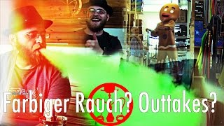 Farbiger Rauch? Outtakes? - 1000 Abo Special - Shisha Opa