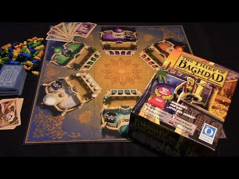 Jeremy Reviews It... - The Thief of Baghdad (2006) / 12 Thieves (2017) Board Game Review