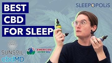 Best CBD for Sleep - Can CBD Help You Fall Asleep?