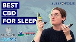 Best CBD for Sleep - Can CBD Help You Fall Asleep?