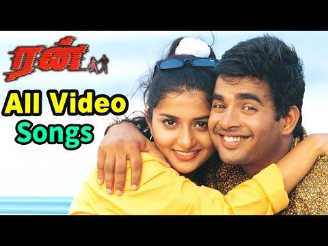 Run Songs | Tamil Movie Video Songs | Run Movie all Video Songs | Madhavan Hits | Vidyasagar Hits