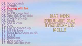 BLACKPINK All songs playlist with Lyrics 2020
