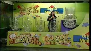 Sorteo de la Lotería de Medellín número 4217 - 09/05/2014