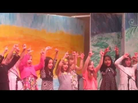 Cape Cod Academy concert April 3 Z and F class (Grade 2)