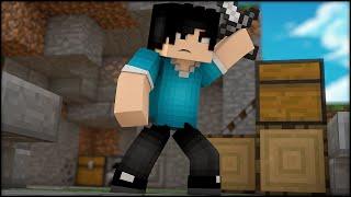 Minecraft: SKY WARS - JOGANDO NO SKYMINIGAMES!