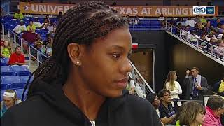 Teana Muldrow talks about joining the Dallas Wings