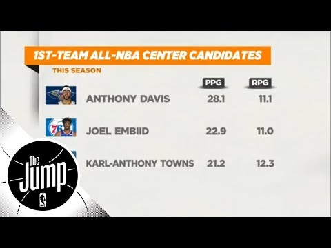 Joel Embiid or Anthony Davis for first team All-NBA? | The Jump | ESPN