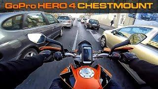 KTM Duke 125 City & Countryside Ride GoPro Hero 4 Chestmount 1080p 50FPS Superview S01E06