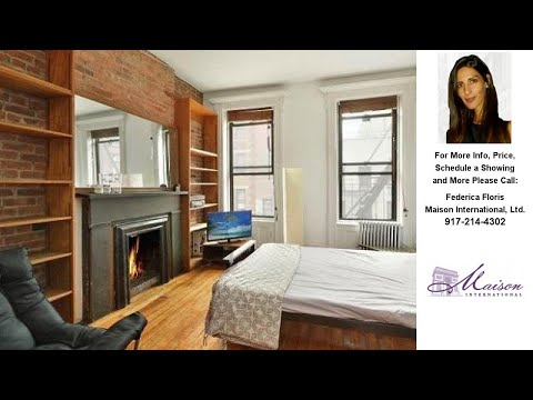 105 Thompson Street, New York, NY Presented by Federica Floris.