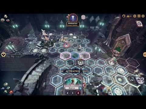 Warhammer Underworlds Online: Eyes of Nine Vs SteelHart Champions 1 (botmatch)  